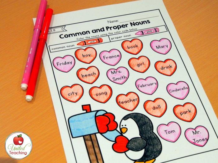 Valentine Nouns