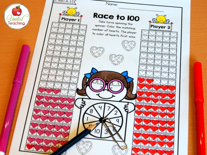 Valentine Race to 100