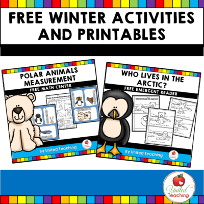 Free Winter Activities and Printables