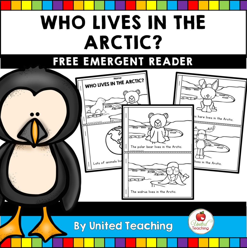Who Lives in the Arctic Free Reader