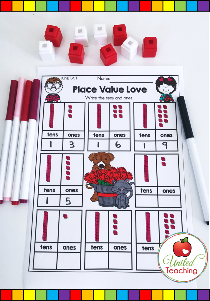 Place Value Love Activity