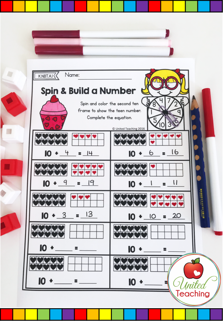 Spin and Build a Number