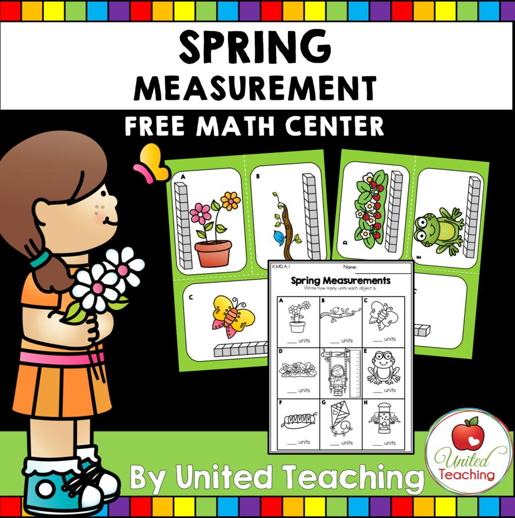 Spring Measurement Freebie Cover