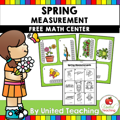 Spring Measurement Freebie Cover