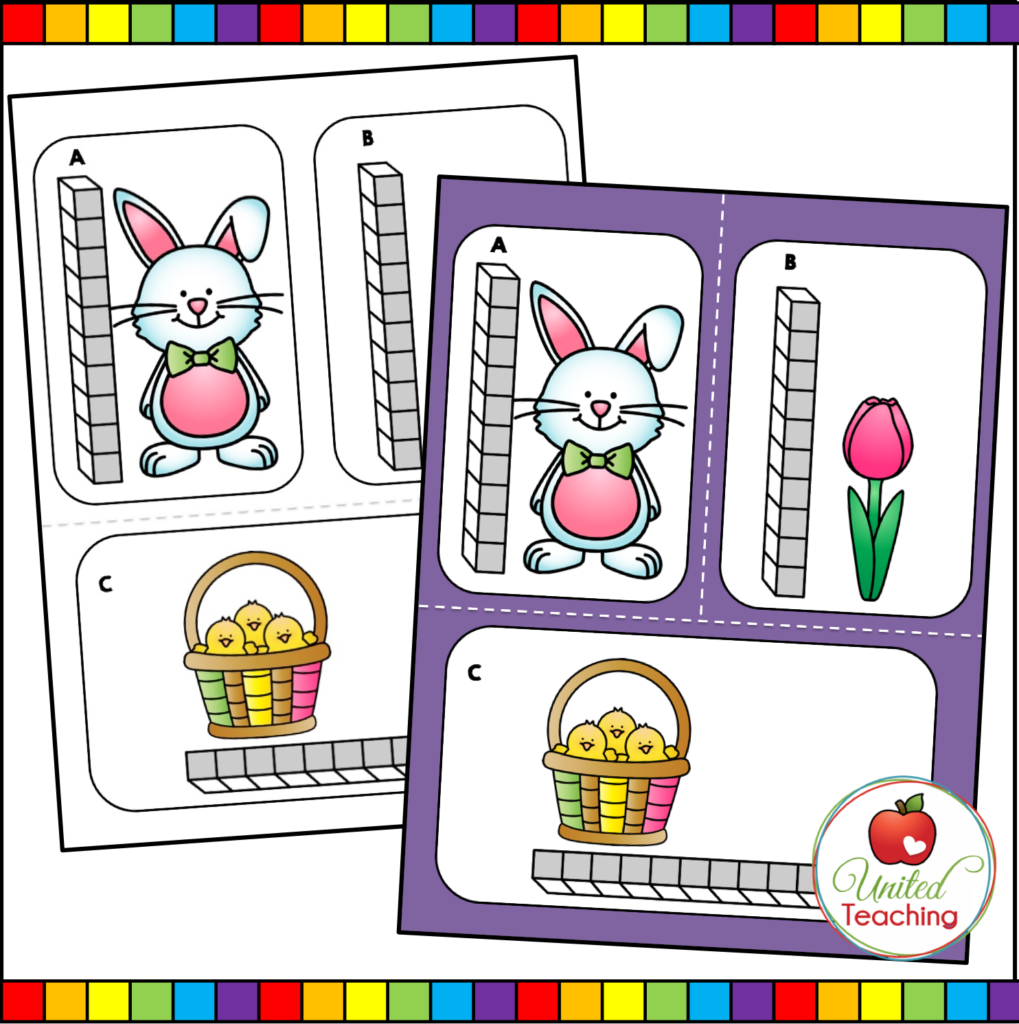 Easter measurement Cards