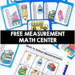 Back to School Free Measurement Math Center
