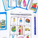 Free Back to School Measurement Math Center