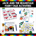 Jack and the Beanstalk Fairy Tale activities and worksheets.