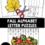 Fall Alphabet Letter Puzzles
