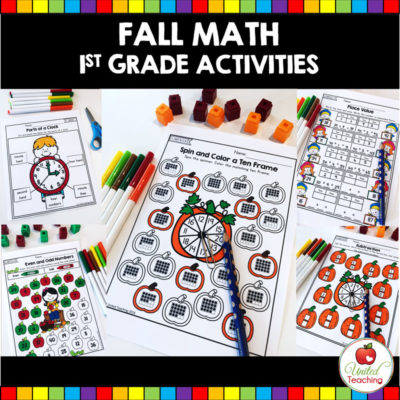FALL MATH ACTIVITIES (1ST GRADE)