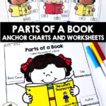 Parts of a Book Anchor Charts and Activities Pin