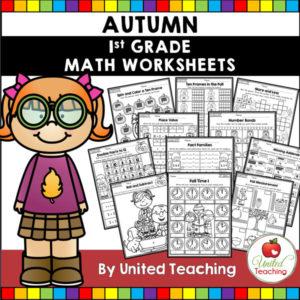 Fall Math Activities (1st Grade)
