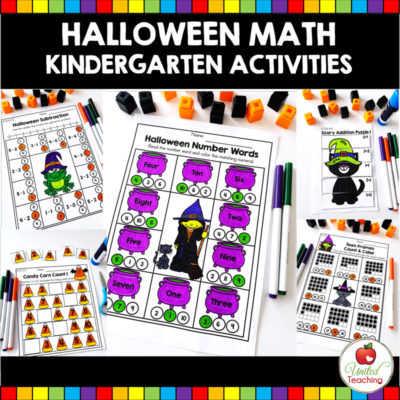 Halloween Math Activities (Kindergarten)
