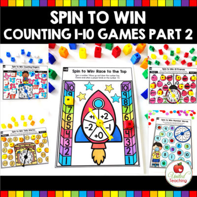 Spin to Win Counting 1-10 Part 2