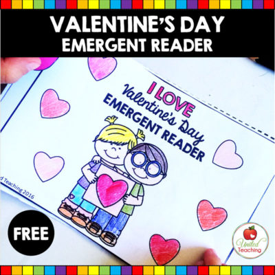 Who Do You Love? Valentine's Day Emergent Reader