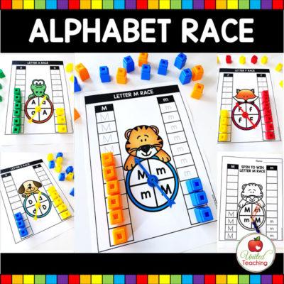 Alphabet Letter Race