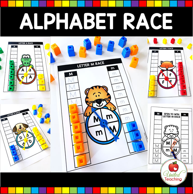 Alphabet Race to the Top Games