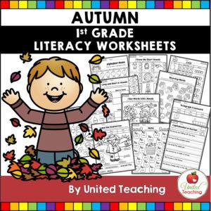 Fall Literacy Activities (1st Grade)