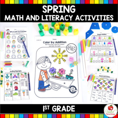 Spring Math and Literacy Activities (1st Grade)