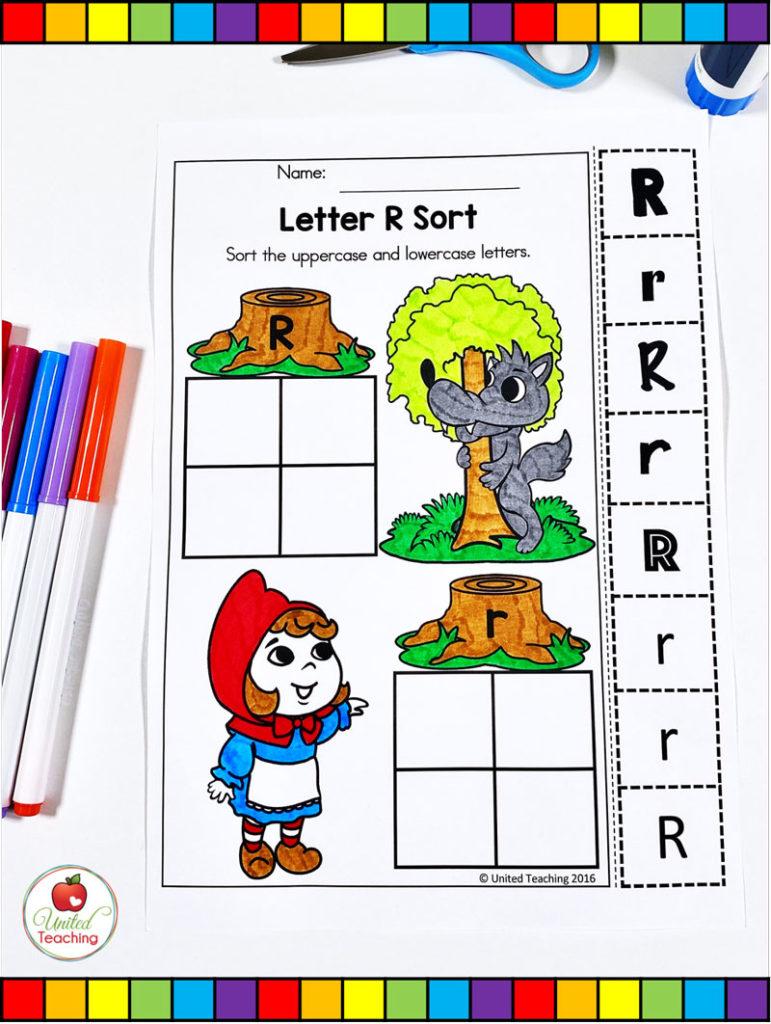 Letter Sort Activity