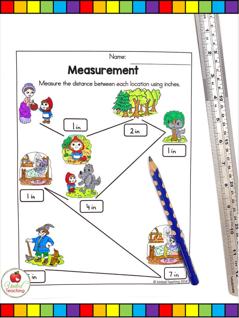 Red Riding Hood Measurement Activity