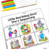 Red Riding Hood Story Sequencing Activity