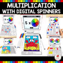 Multiplication Activities with Digital Spinners Main Image