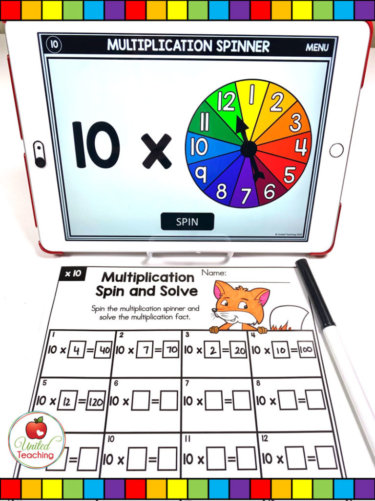 Multiplication Spin and Solve
