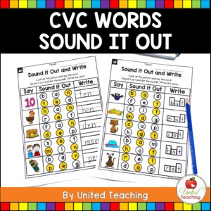 CVC Words Sound it Out Cover