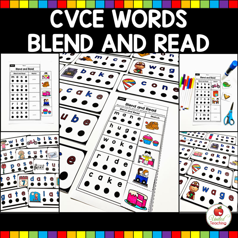 CVCE Blend and Read Activities Main Image