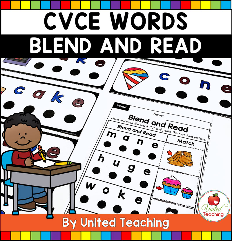 CVCE Blend and Read Cover