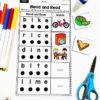 CVCE Blend and Read Worksheet