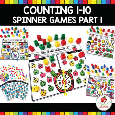 Counting 1-10 Spinner Games Part 1