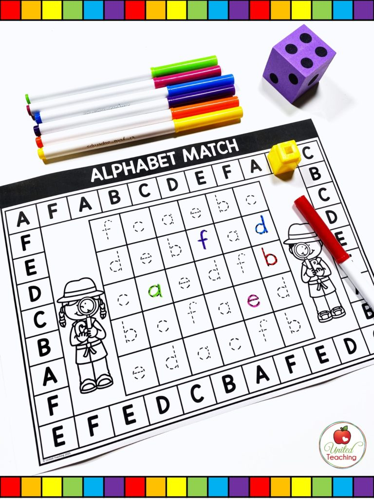 Alphabet Letter Tracing Game