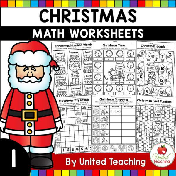 Christmas Math Activities (1st Grade)