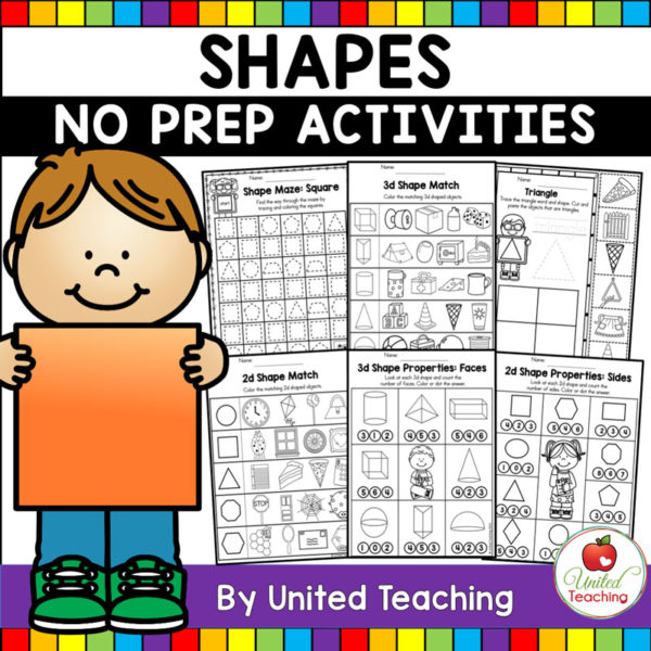 Shape Activities Cover
