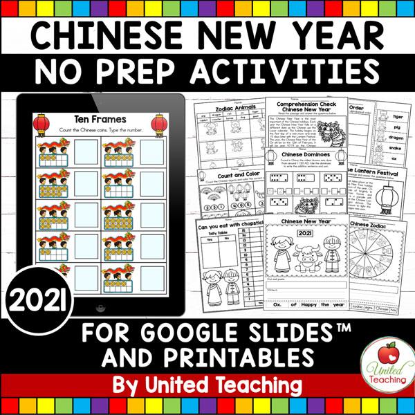 Chinese New Year 2021 Activities