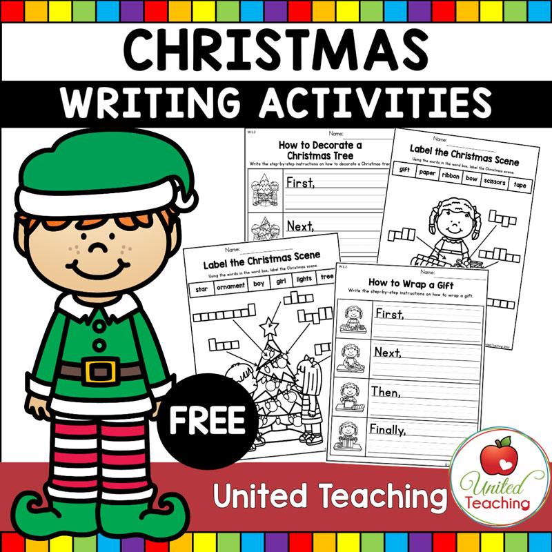 Christmas Writing Activities FREE