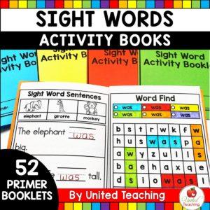 Sight Word Activity Books