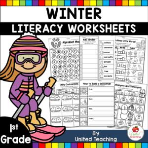Winter Literacy Activities for 1st Grade