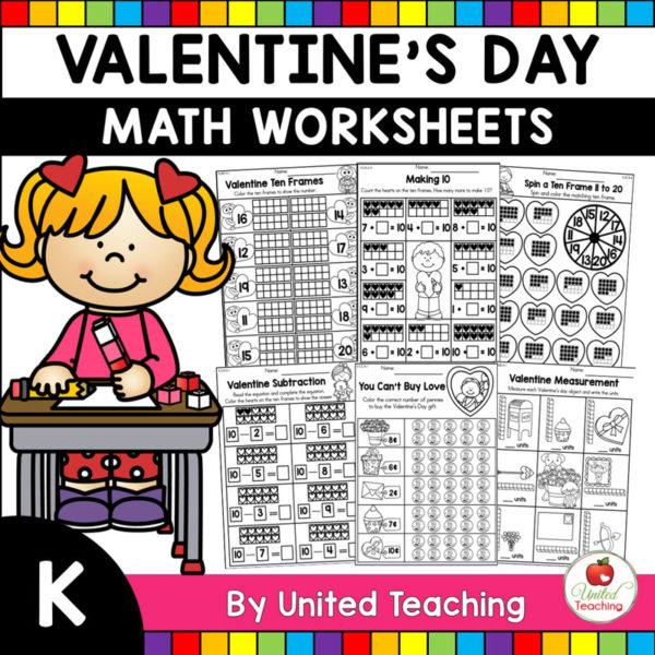 Valentine's Day Math Activities (Kindergarten)