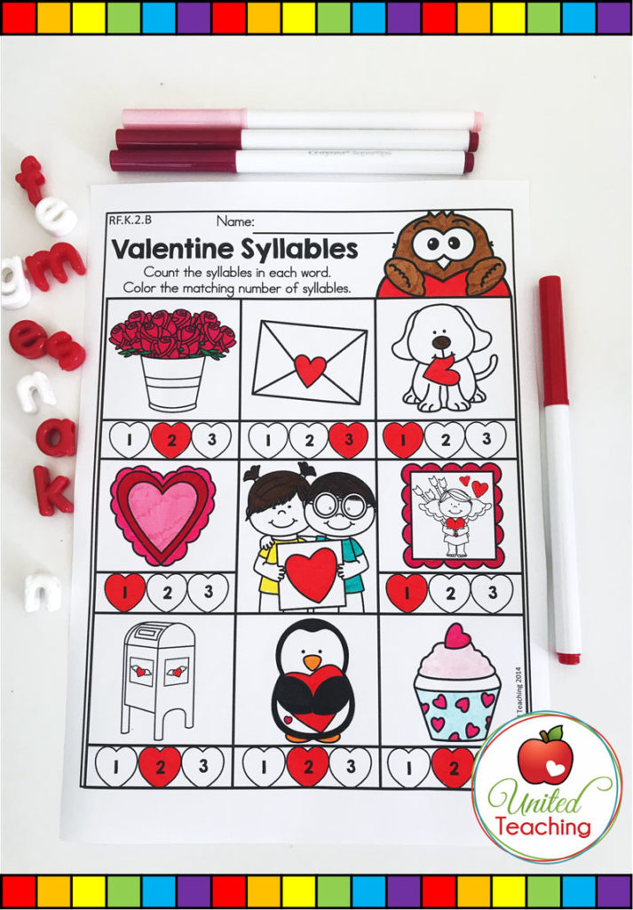 Valentine's Day Syllable