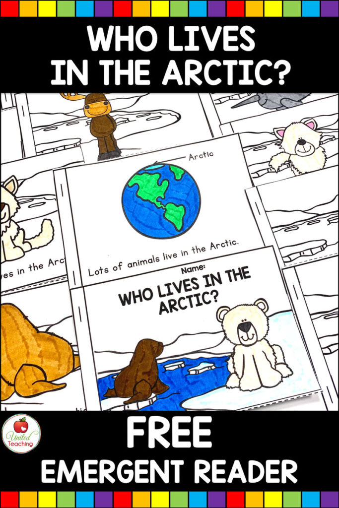 Who Lives in the Arctic? Free Arctic Animals Emergent Reader