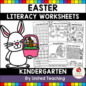 Easter Literacy Activities for Kindergarten