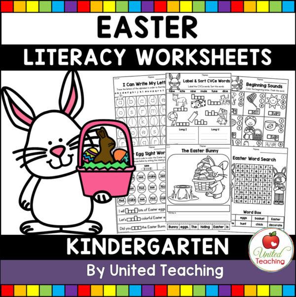 Easter Literacy Activities for Kindergarten