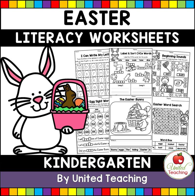 Easter Literacy Activities Kindergarten - United Teaching
