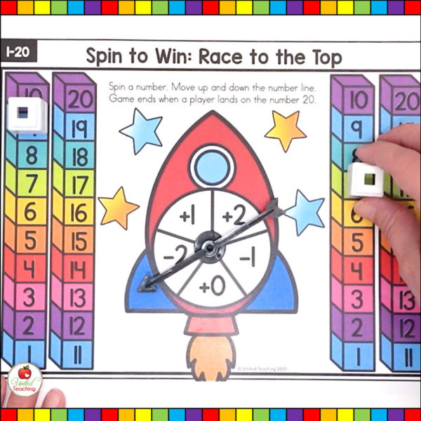 Numbers 1-20 Math Game