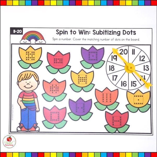 Subitizing Math Game