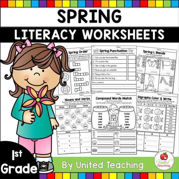 Spring Literacy for 1st Grade