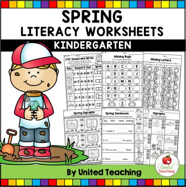 Spring Literacy Activities for Kindergarten